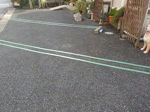 柏市 駐車場 ライン塗装